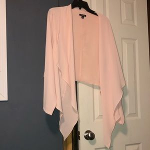 High-Low Blush Pink Torrid Cardigan